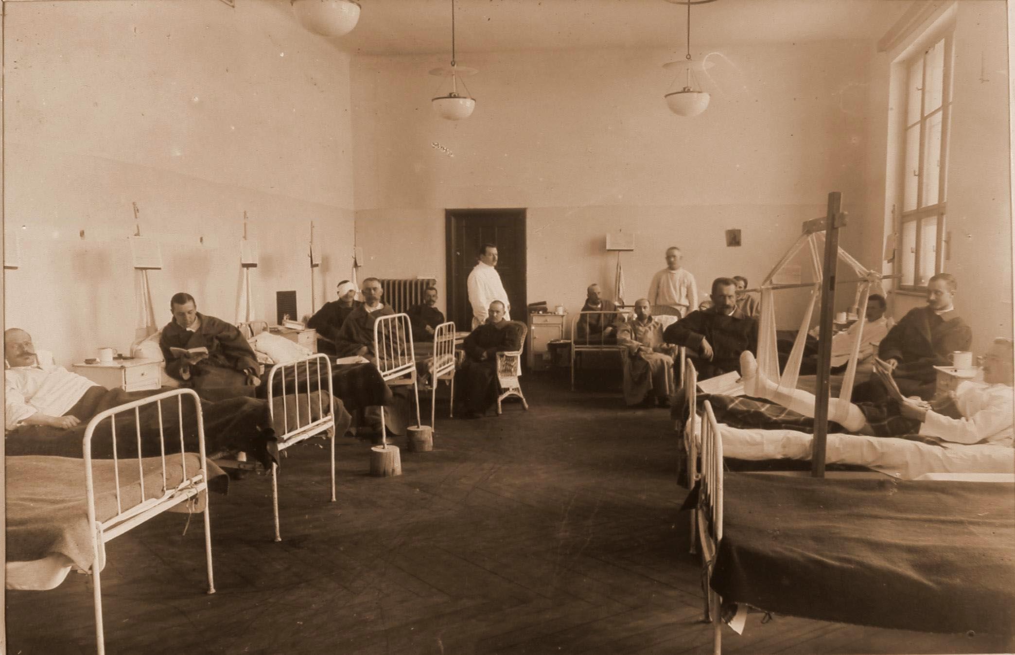 15. Раненые и больные в палате № 13 для офицеров