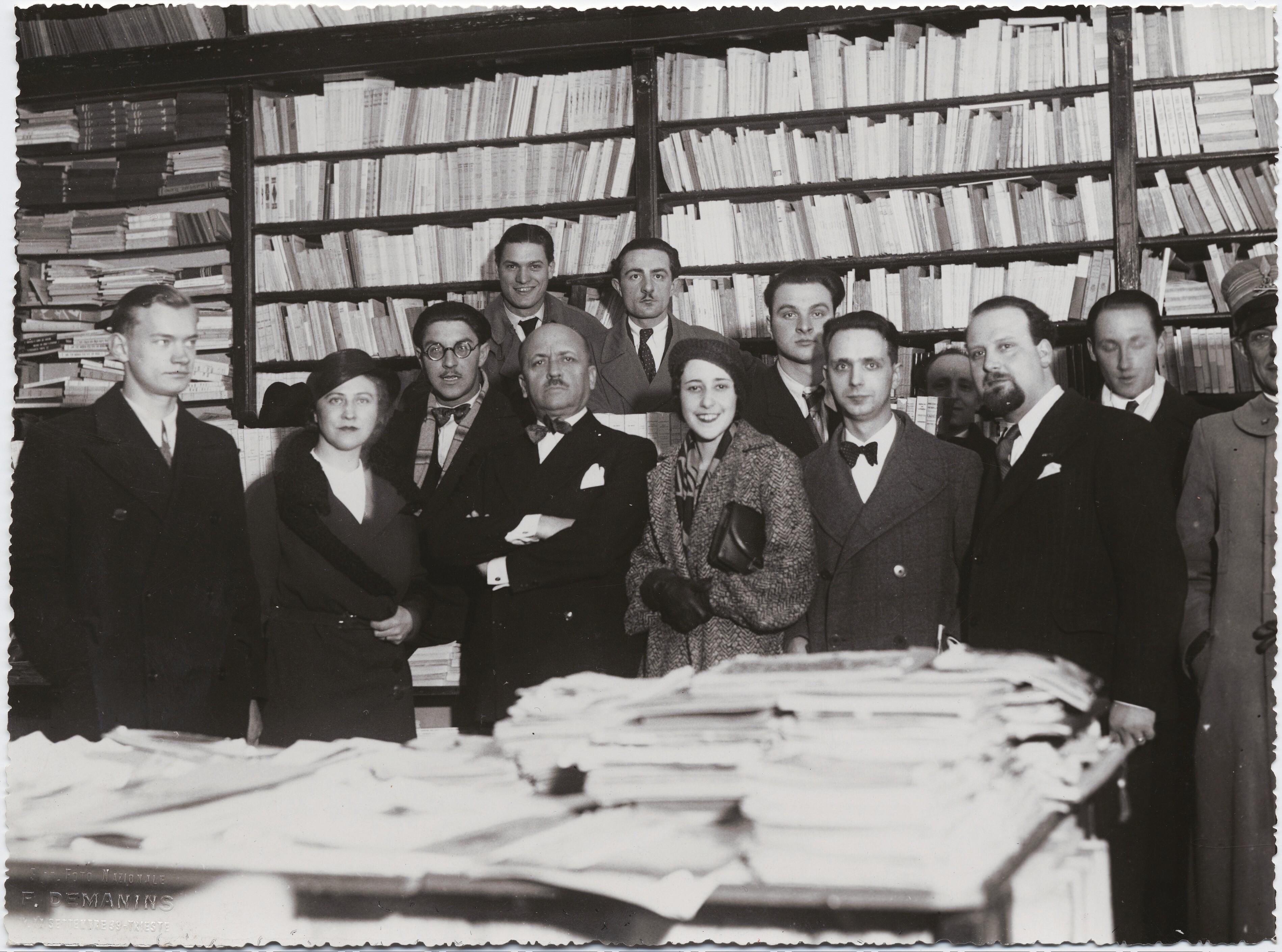 1932. Выставка футуристов в Триесте
