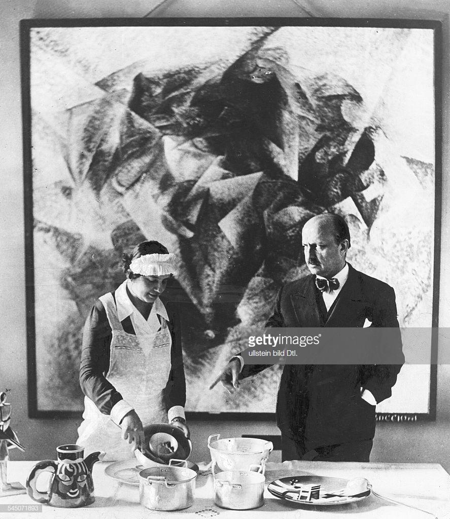 1934. Футуристическая подготовка пищи