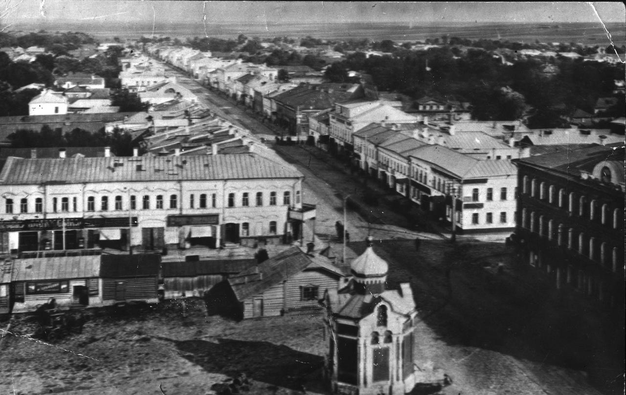 Астраханская улица с колокольни церкви Иоанна Богослова