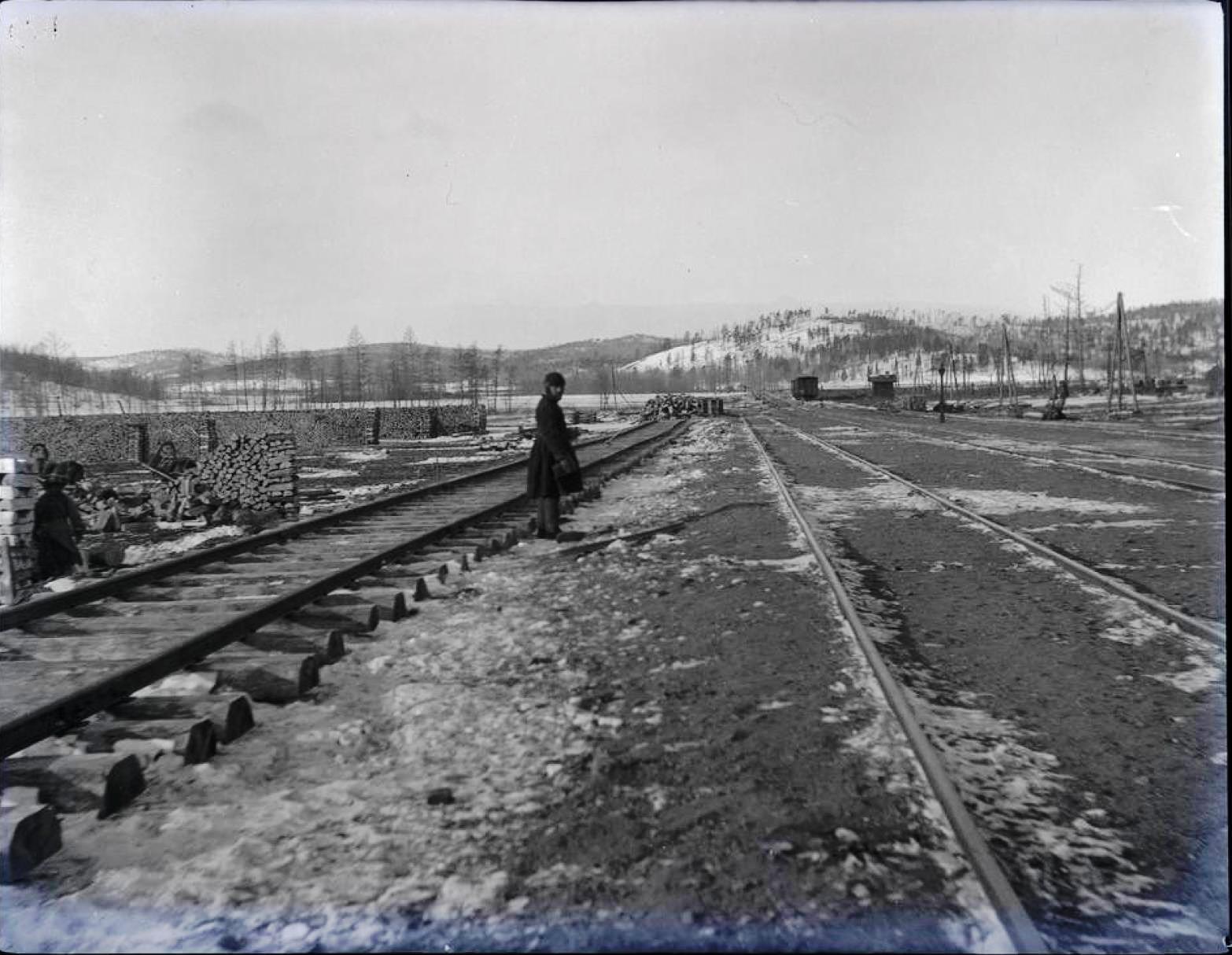 18. Вид из хвоста поезда