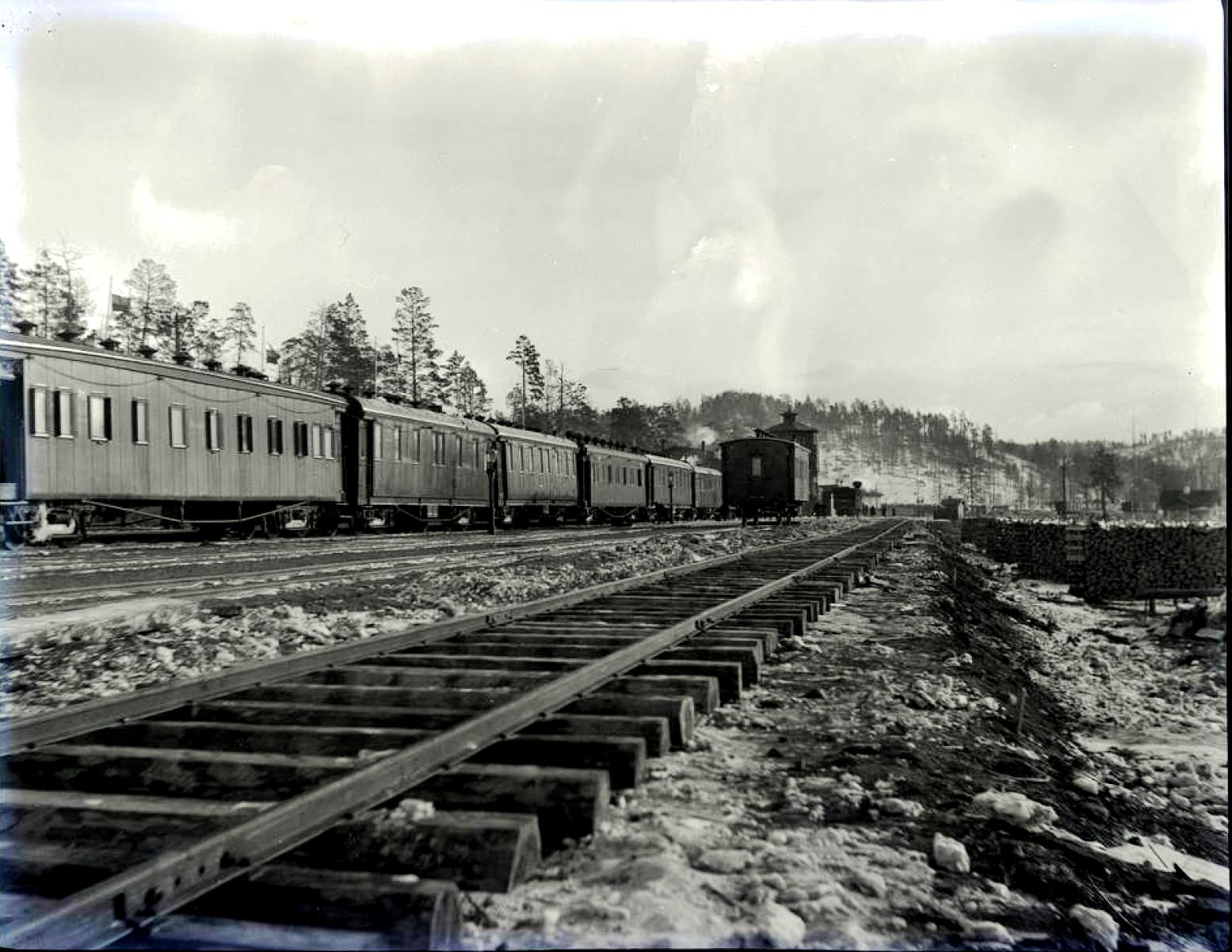19. Поезд