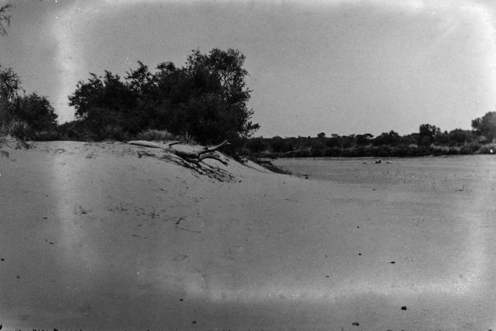Бечуаналенд. Песчаная отмель на реке Шаши