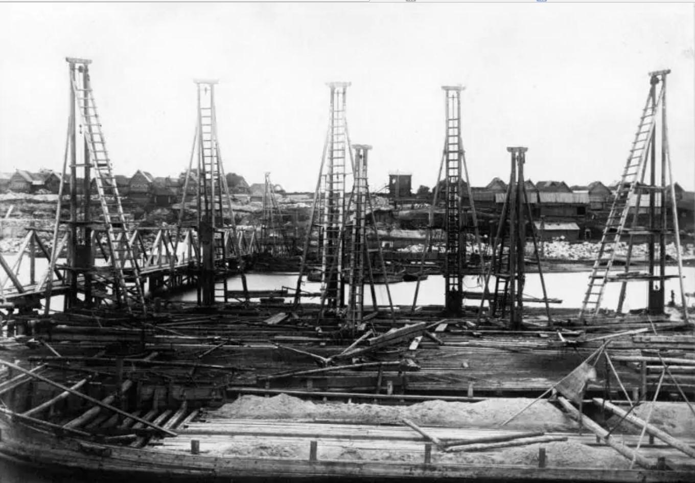 Вид с середины реки Оки на Рязанский берег. 26 июня 1863.