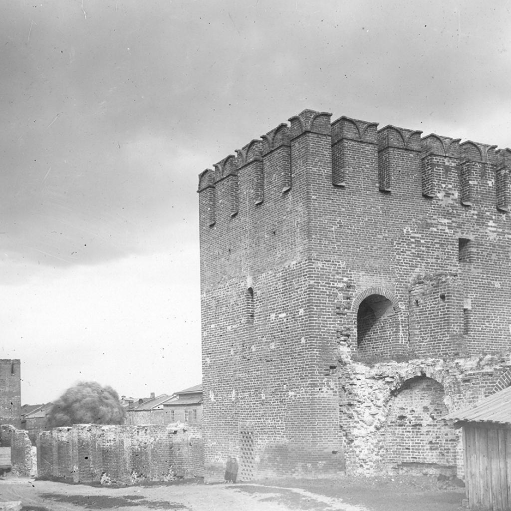 Вторая башня от Пятницких ворот. 1905