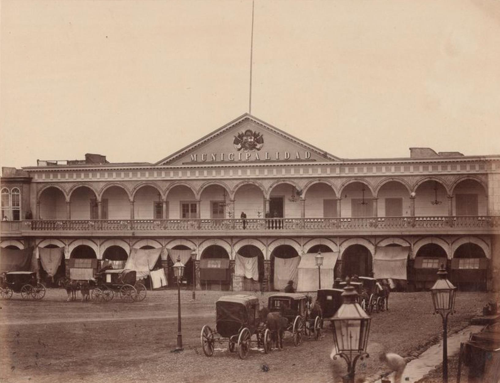 Лима. Главная площадь. Здание муниципалитета