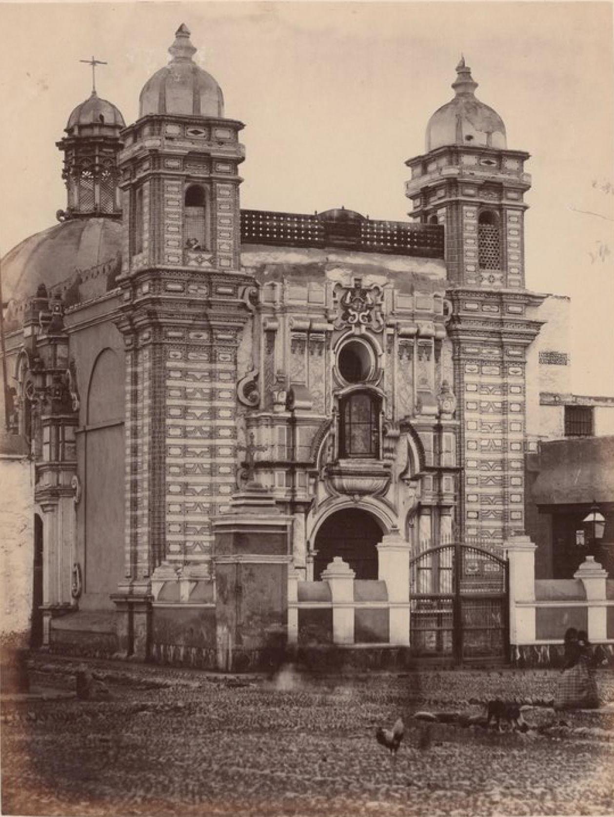 Лима. Церковь Троицы,
