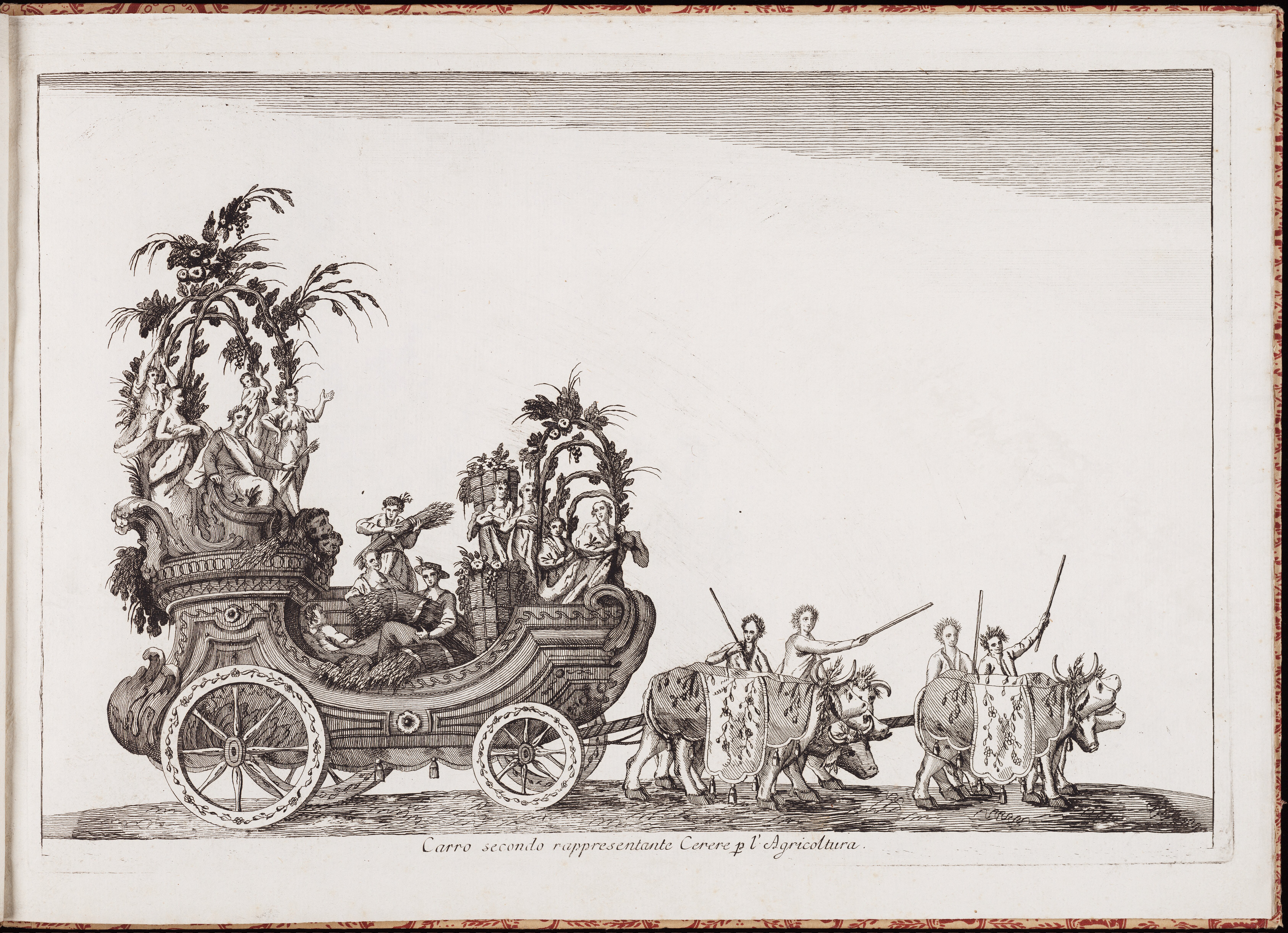 Вторая колесница — богини плодородия Цереры