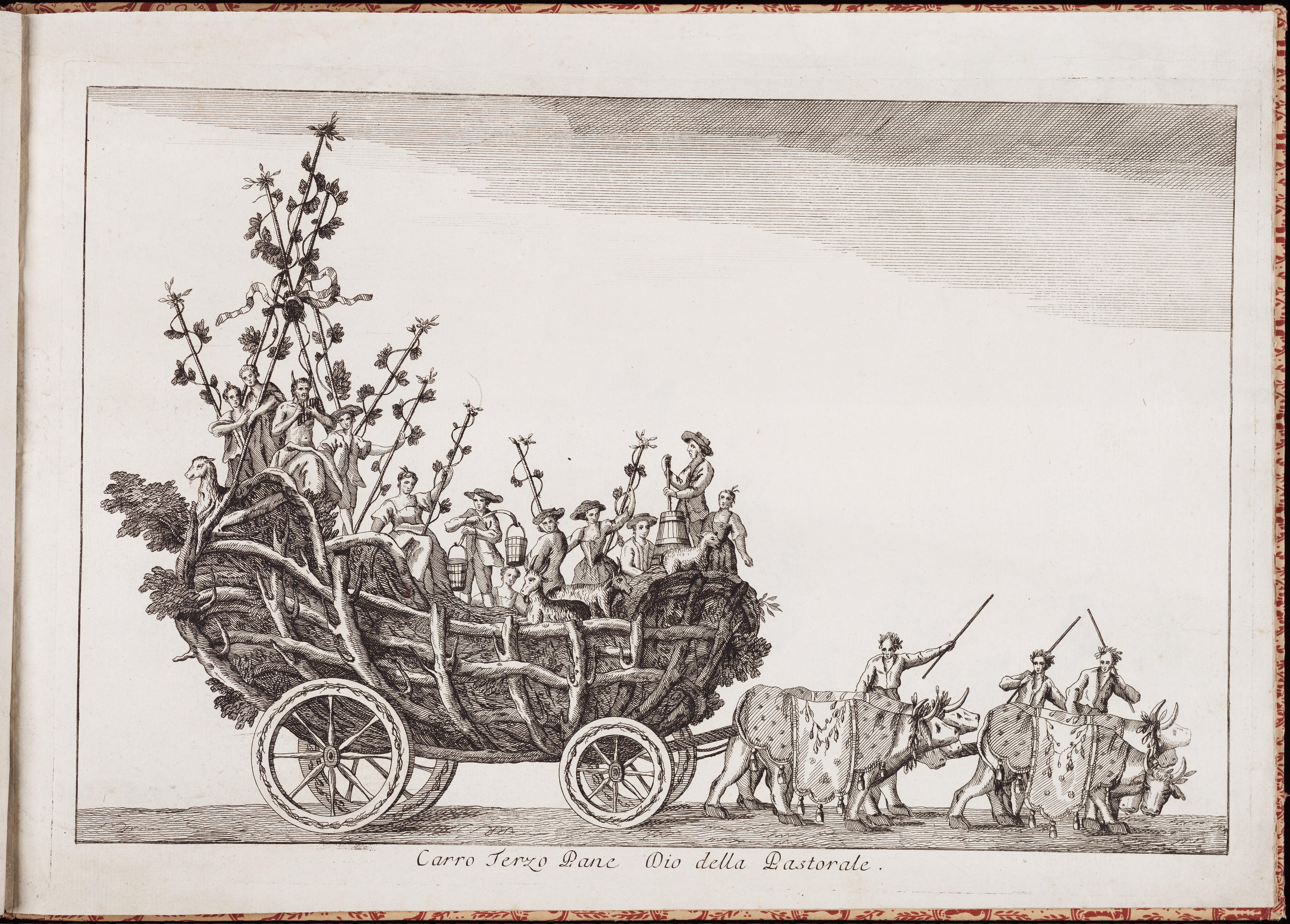 Третья колесница — Пана, бога пастушества и скотоводства