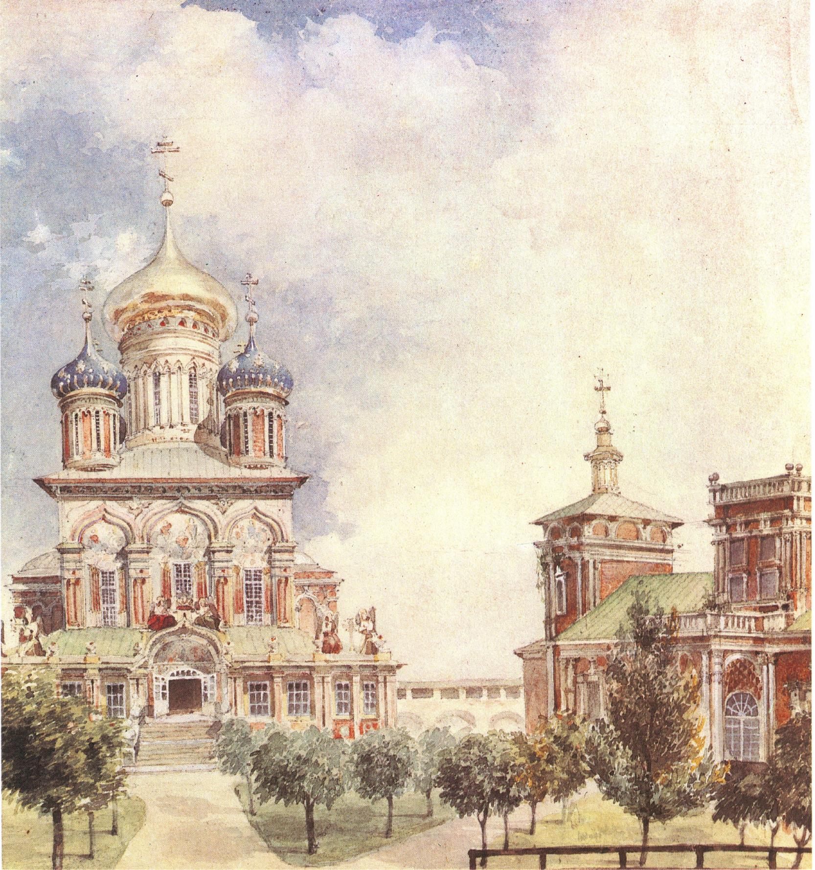 1830-1840-е. Симонов монастырь