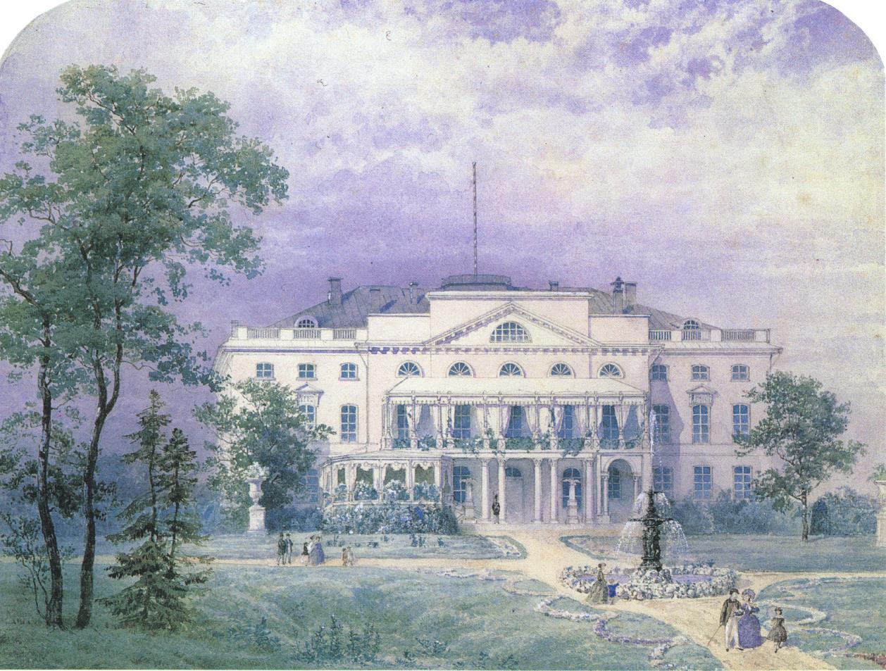 1850-1860-е. Нескучный (Александринский) дворец