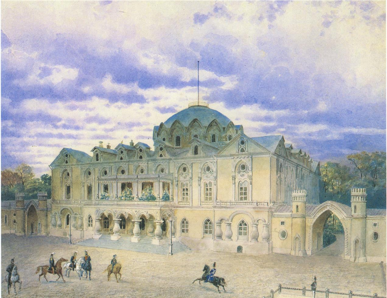 1850-1860-е. Петровский дворец