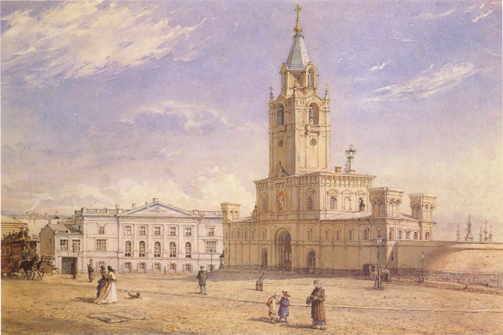 1877. Страстной монастырь
