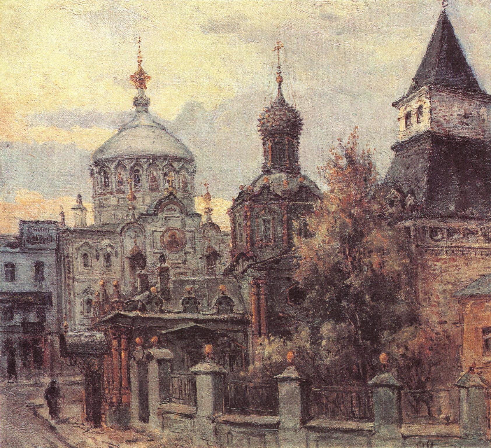 1890-е. Владимирская башня Китайгородской стены
