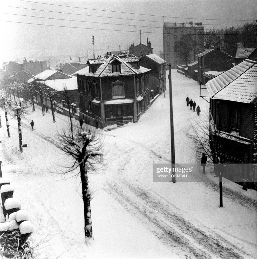 1943. Аркёй под снегом