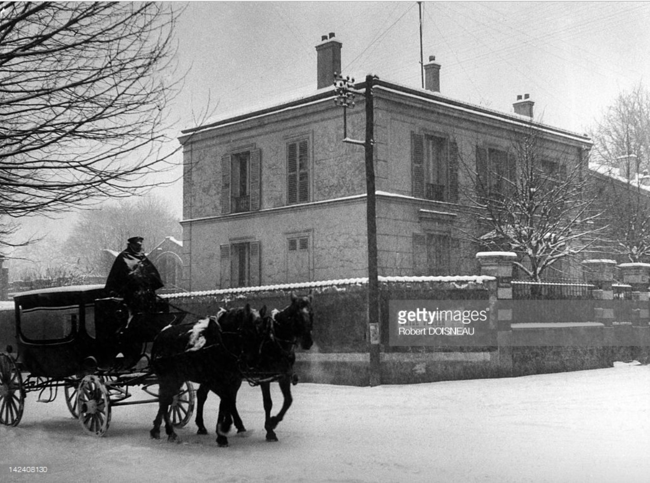 1945. Дом Пабло Пикассо, Монруж