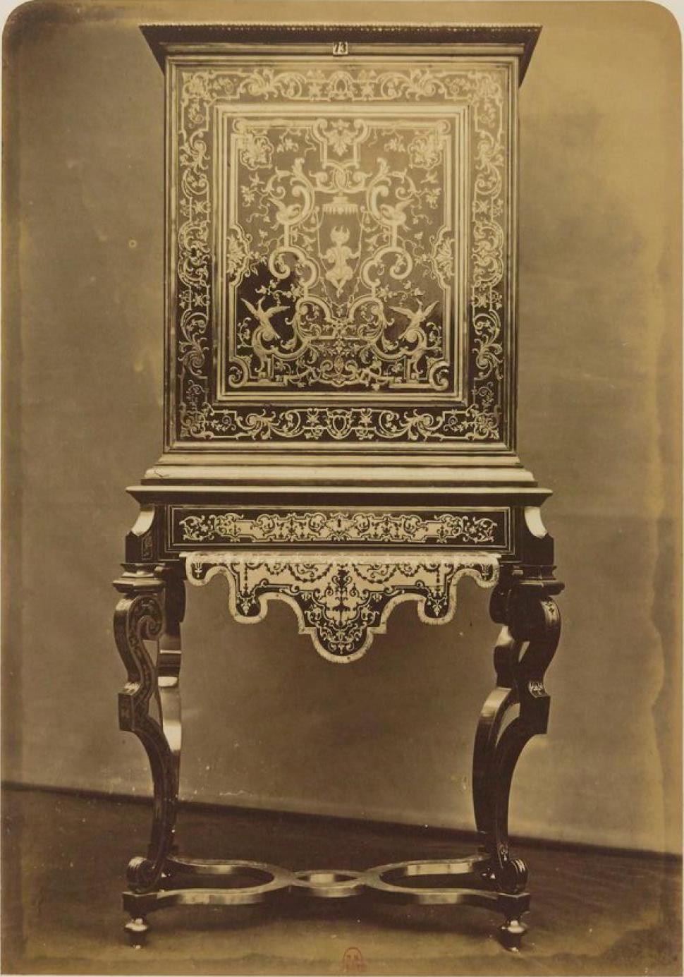 Шкаф. Мебель стиля «буль» (ок. 1700)