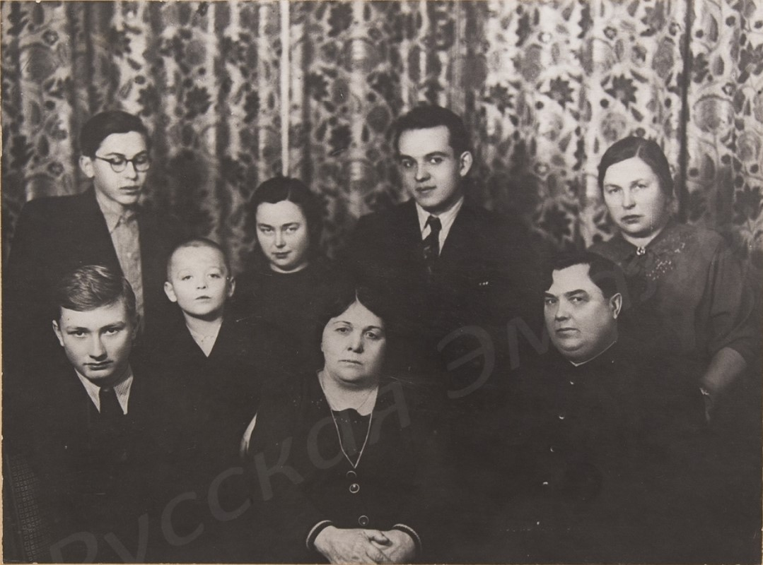 1950-е. Семья Георгия Максимилиановича Маленкова