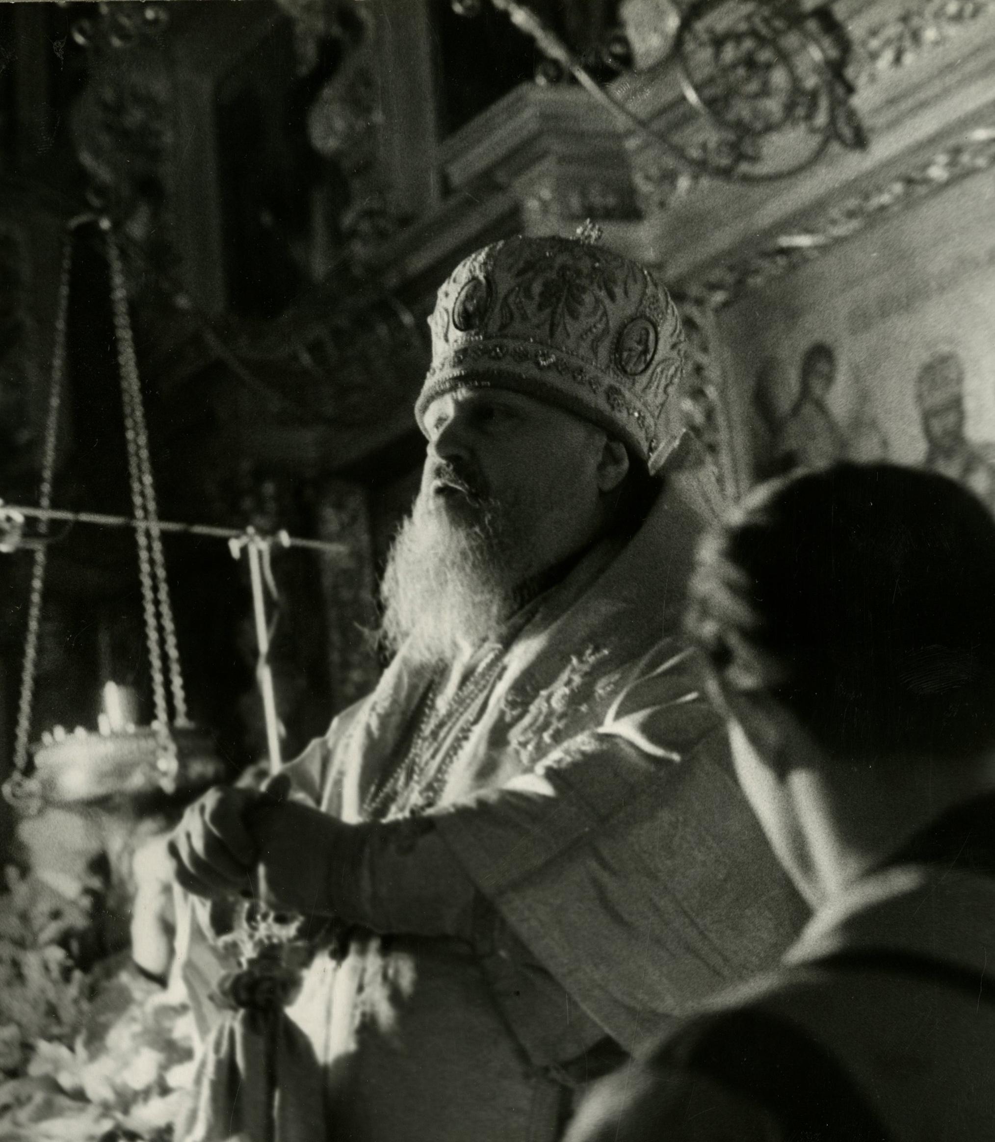 Прощание с Патриархом Московским и всея Руси Алексием I 2