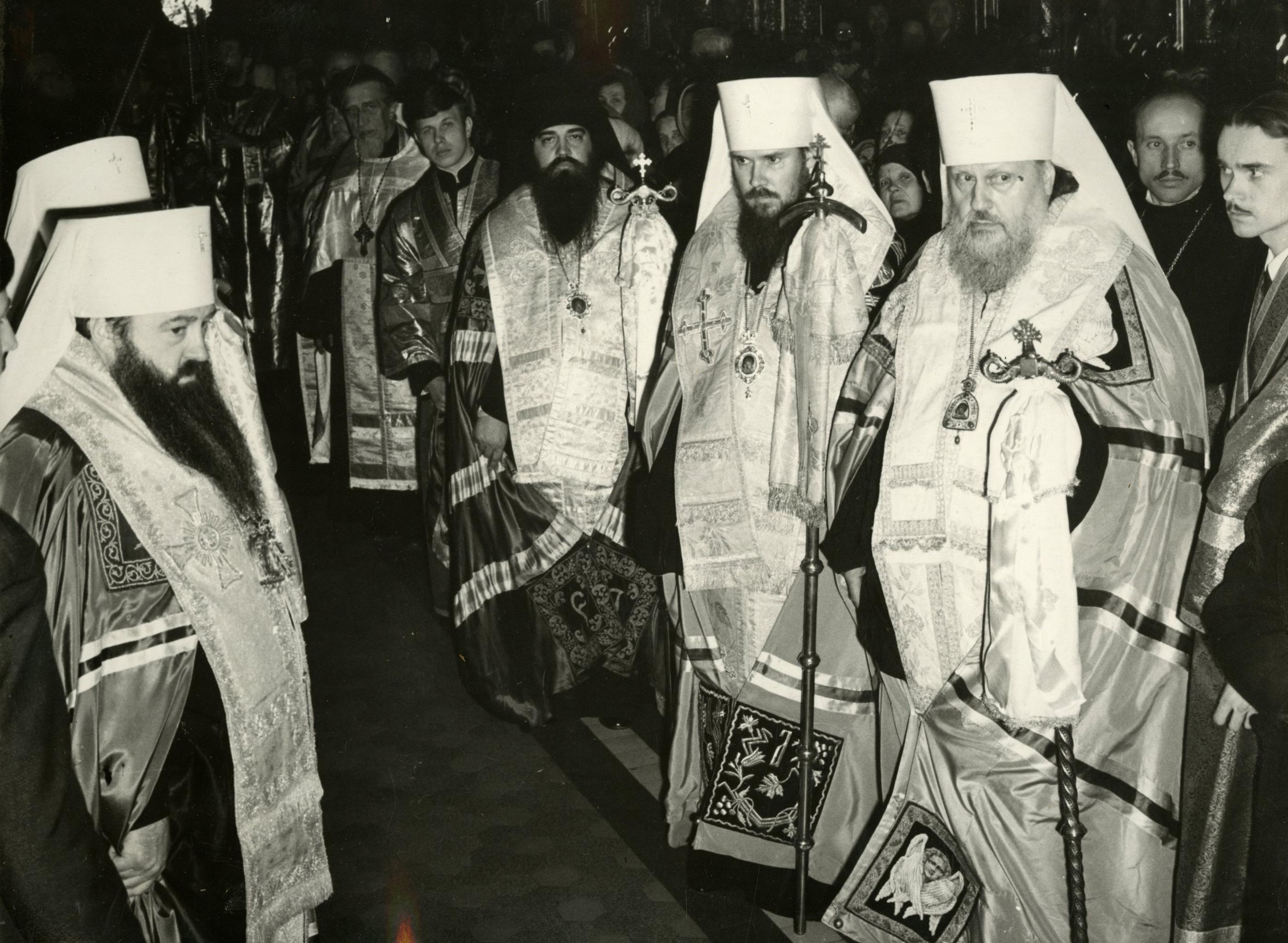 Прощание с Патриархом Московским и всея Руси Алексием I