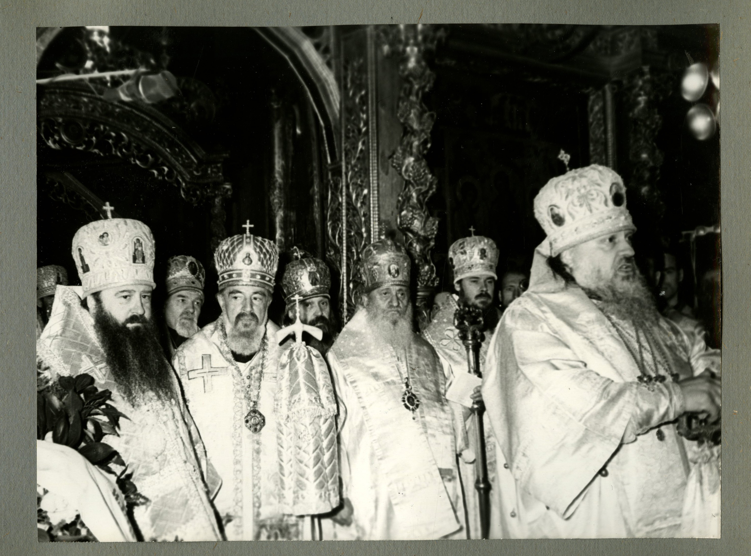 Прощание с Патриархом Московским и всея Руси Алексием I 3