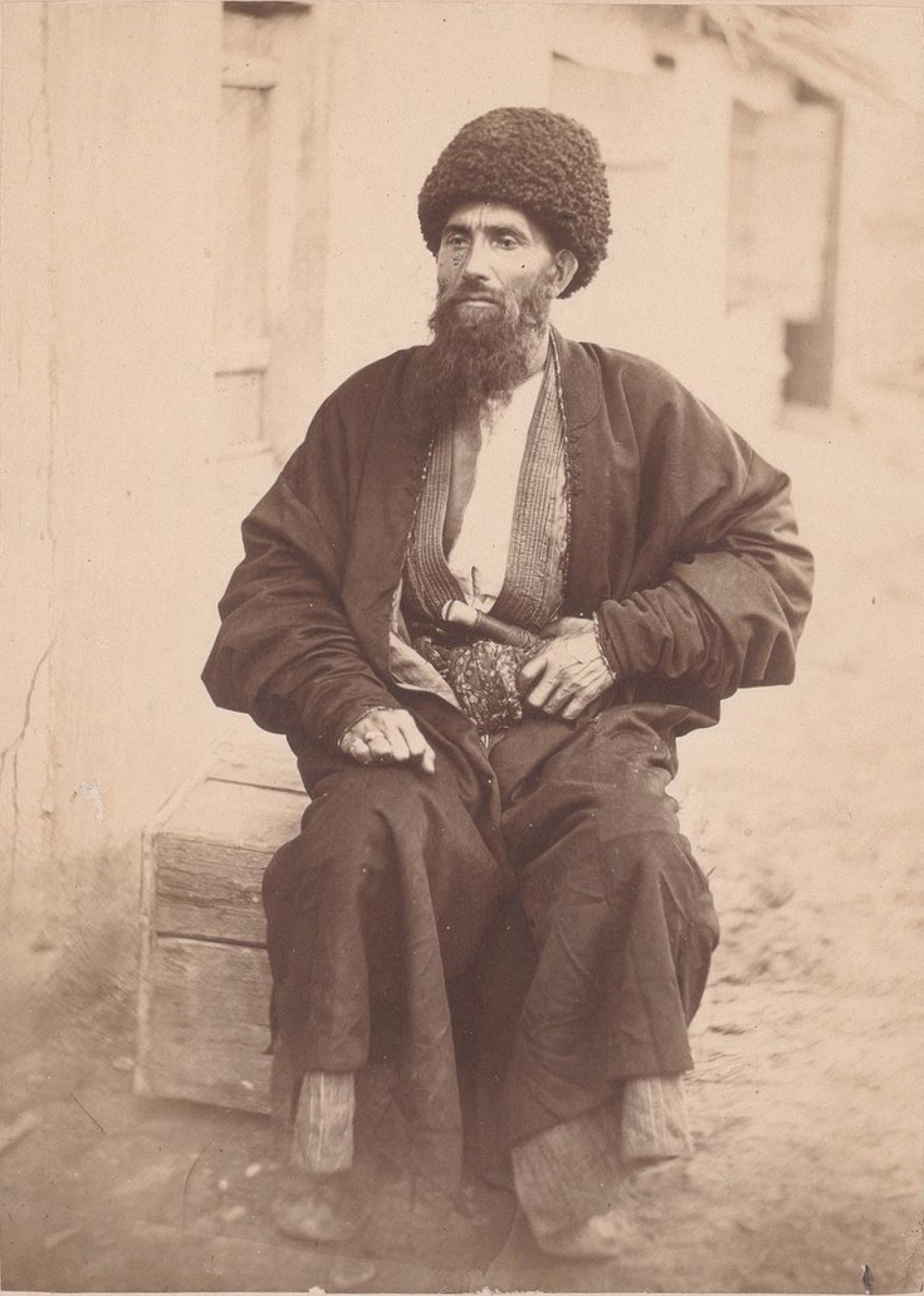 Саид-Назаз, юзбаши из Каахка