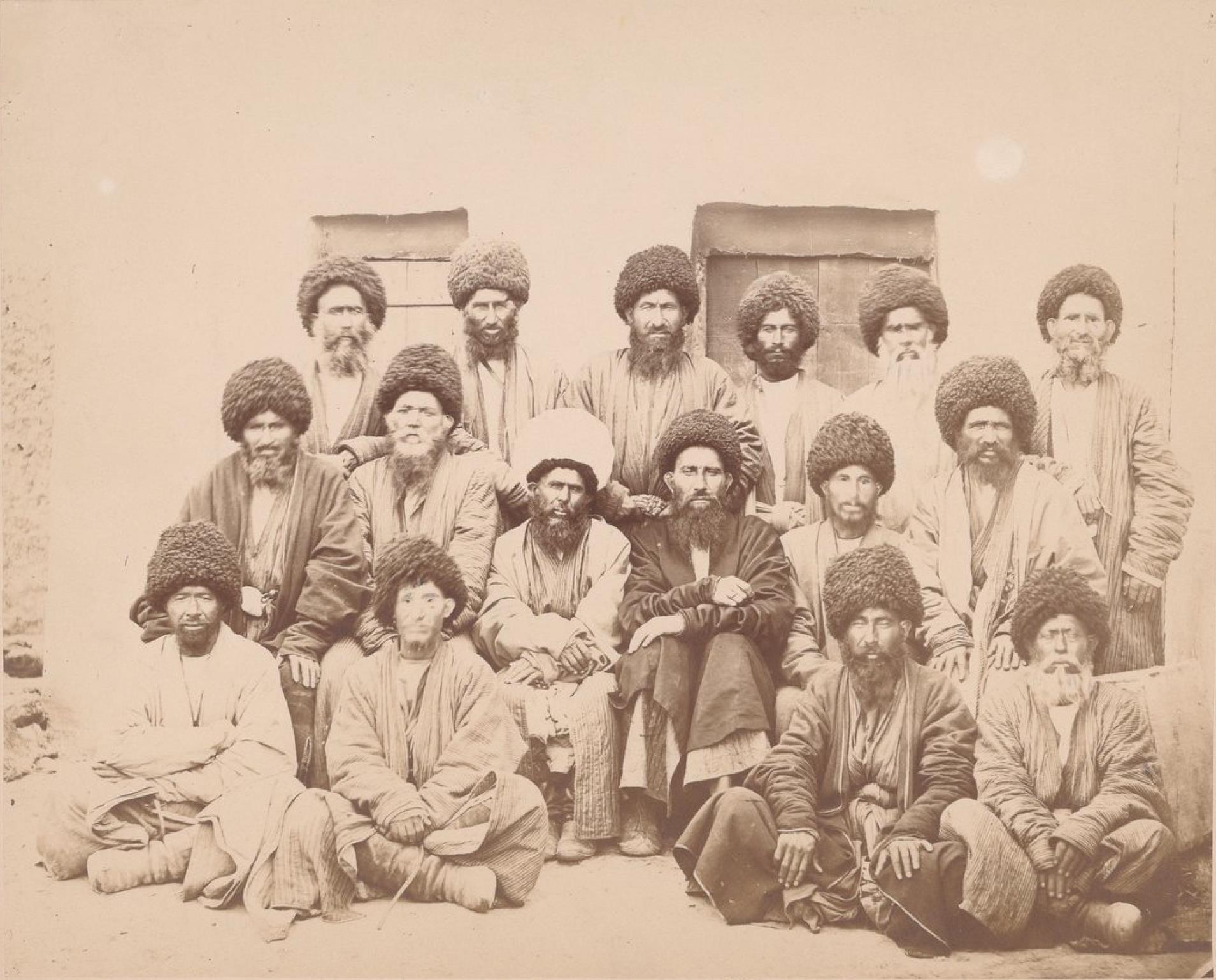 Туркмены-алиели из Каахка