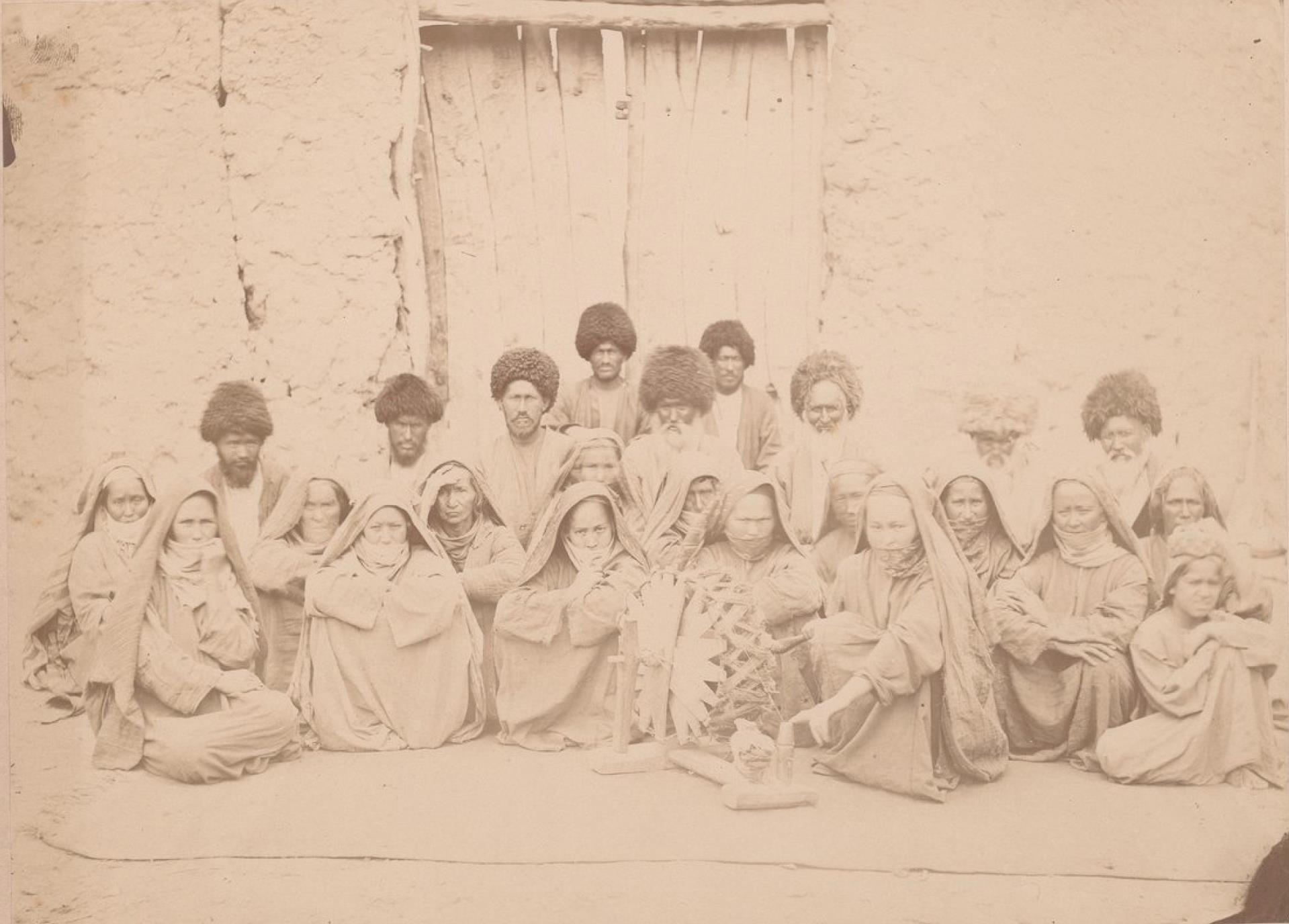 Туркмены села Багир