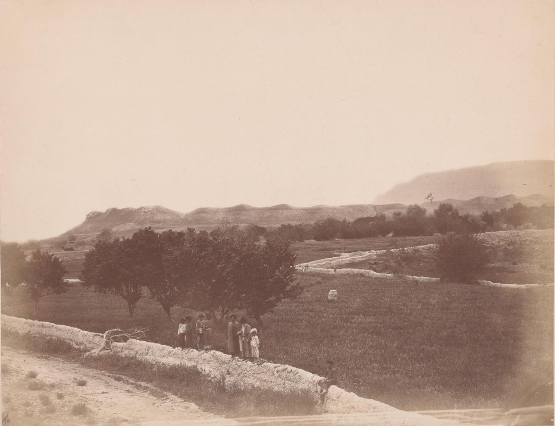 Руины старой Нисы