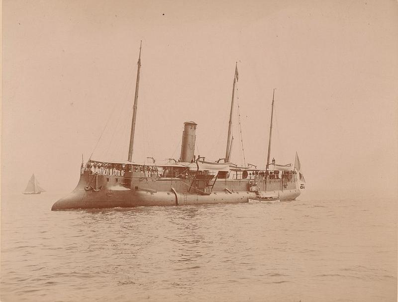 Военный флот. «Спарроу», торпедный крейсер
