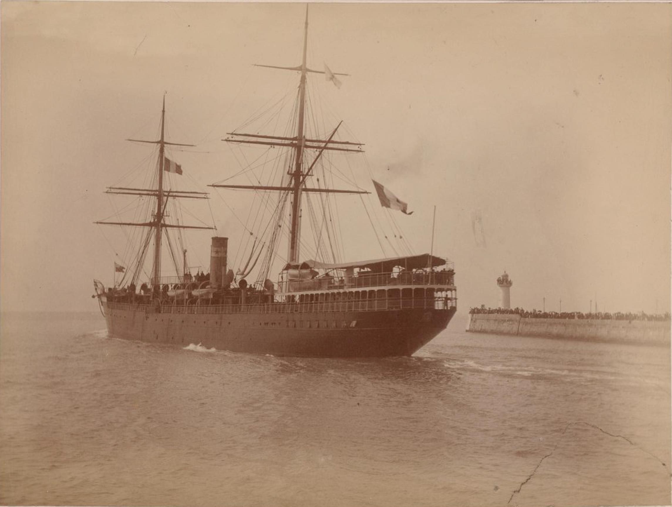 Компания «Chargeurs Reunis».  Круизный лайнер «Рио-Негро» (линия от Гавра до Ла-Платы)