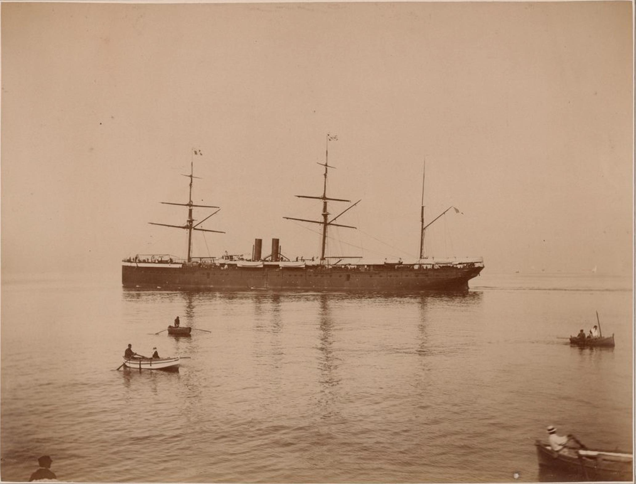 Компания «Nationale des Messageries Maritimes». Пассажирский лайнер «Океания»