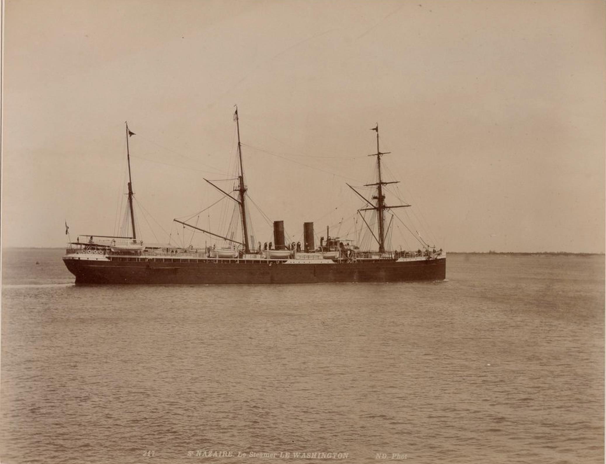 Трансатлантическая компания. Почтовый пароход «Вашингтон»