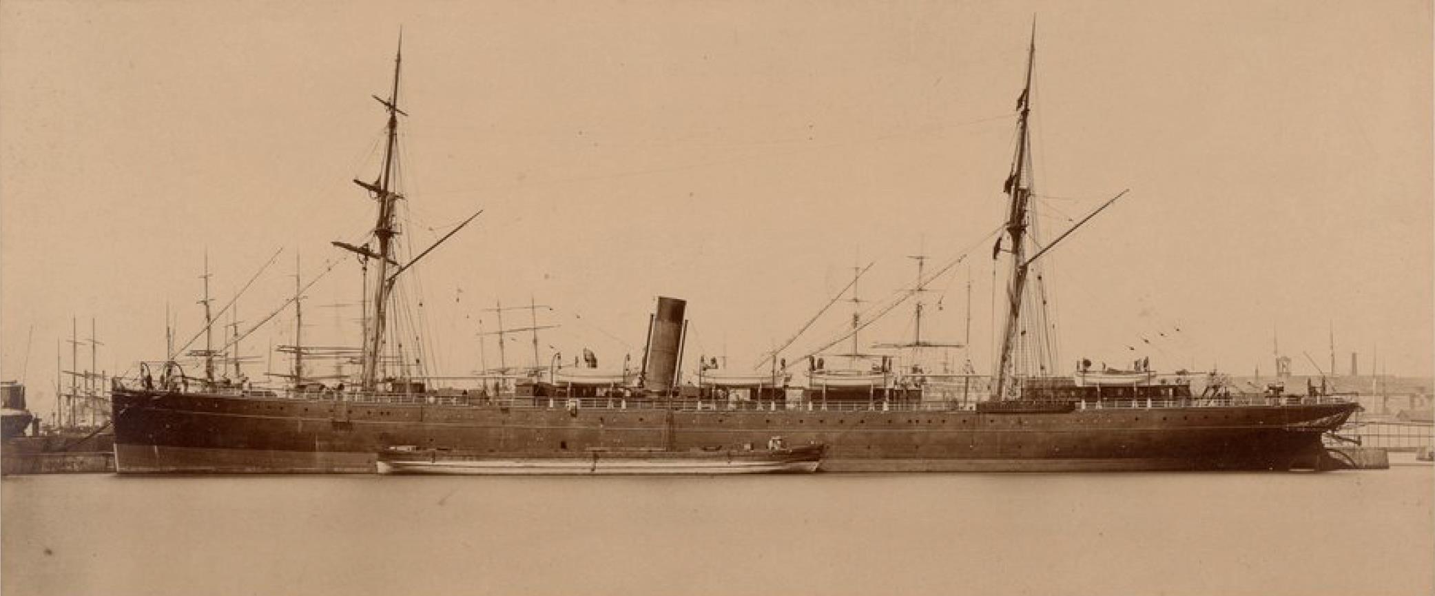 Трансатлантическая компания. Почтовый пароход «Сен-Жермен»