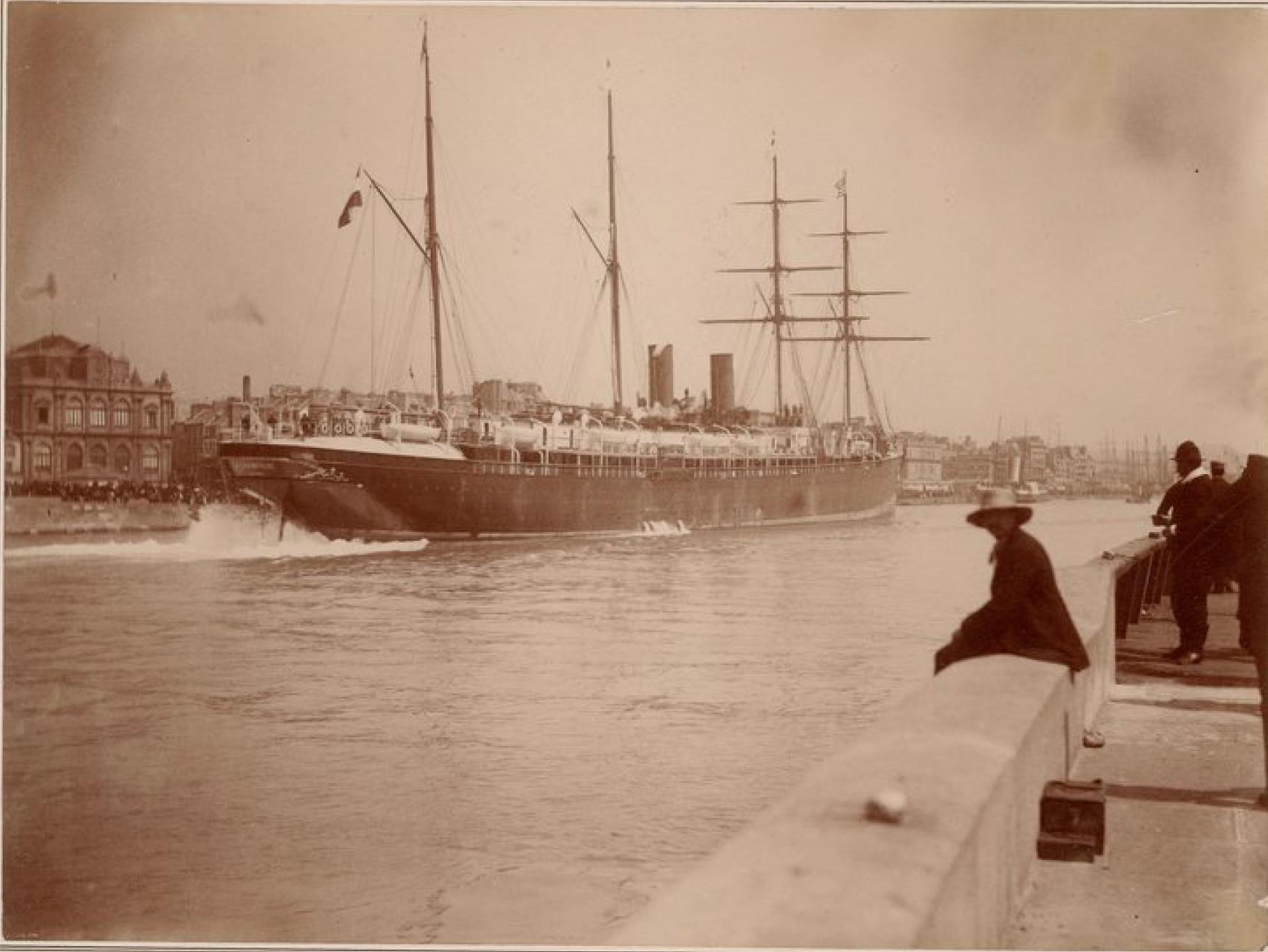 Трансатлантическая компания. Почтовый пароход «Шампань» (линия Гавр - Нью-Йорк)