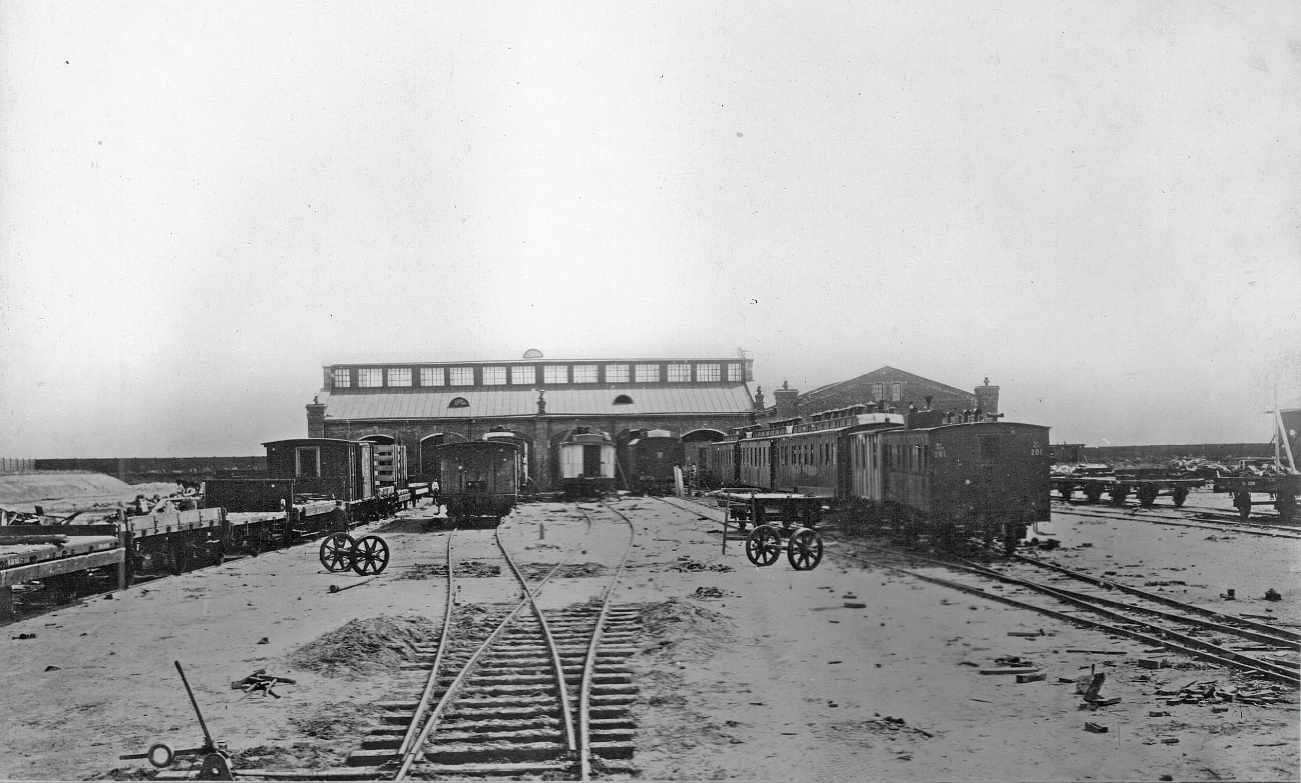 1897. Омские вагонные мастерские
