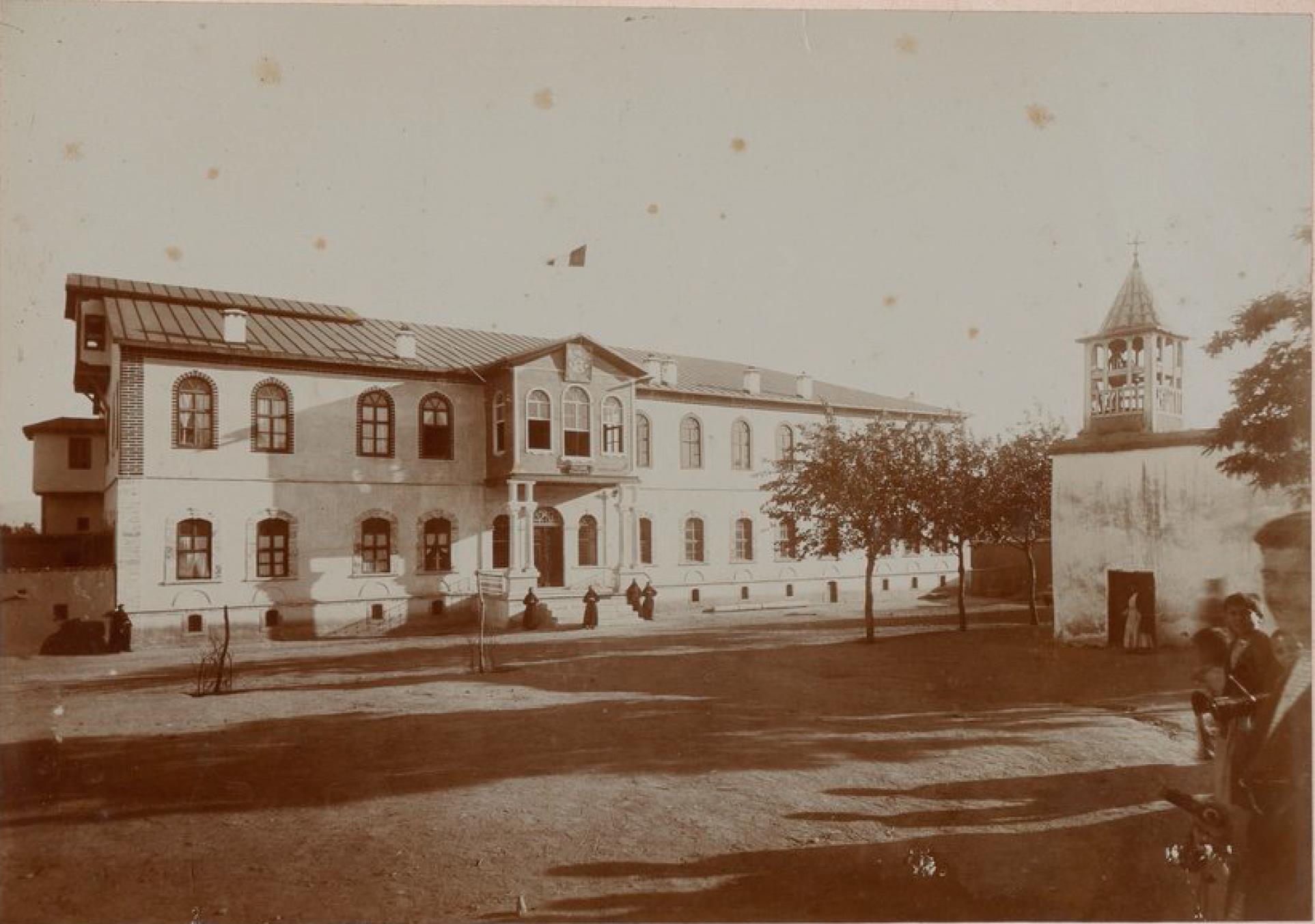 Мезре (провинция Харберд). Резиденция и Коллегия миссионеров
