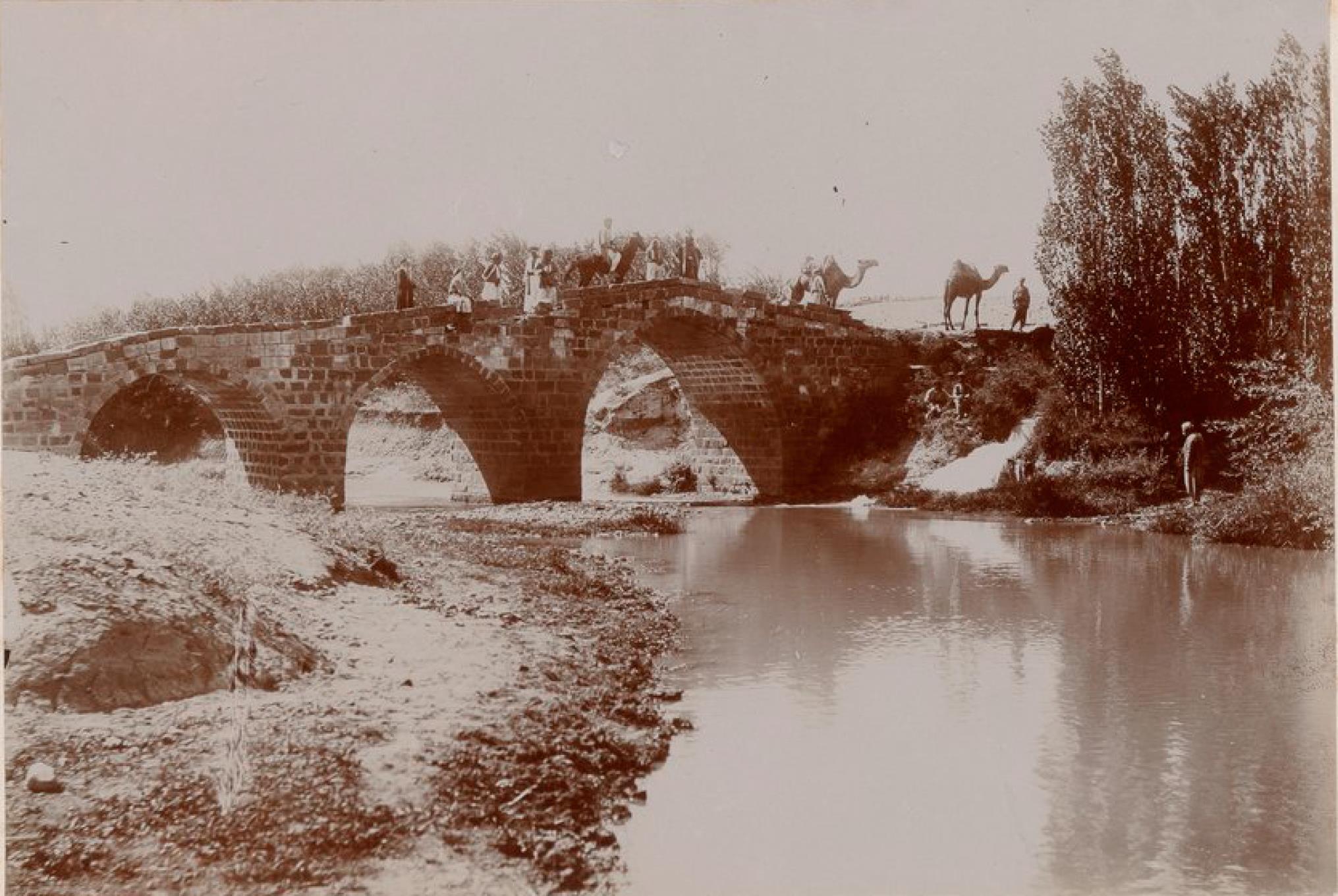 Мост через Садджур (приток Евфрата)