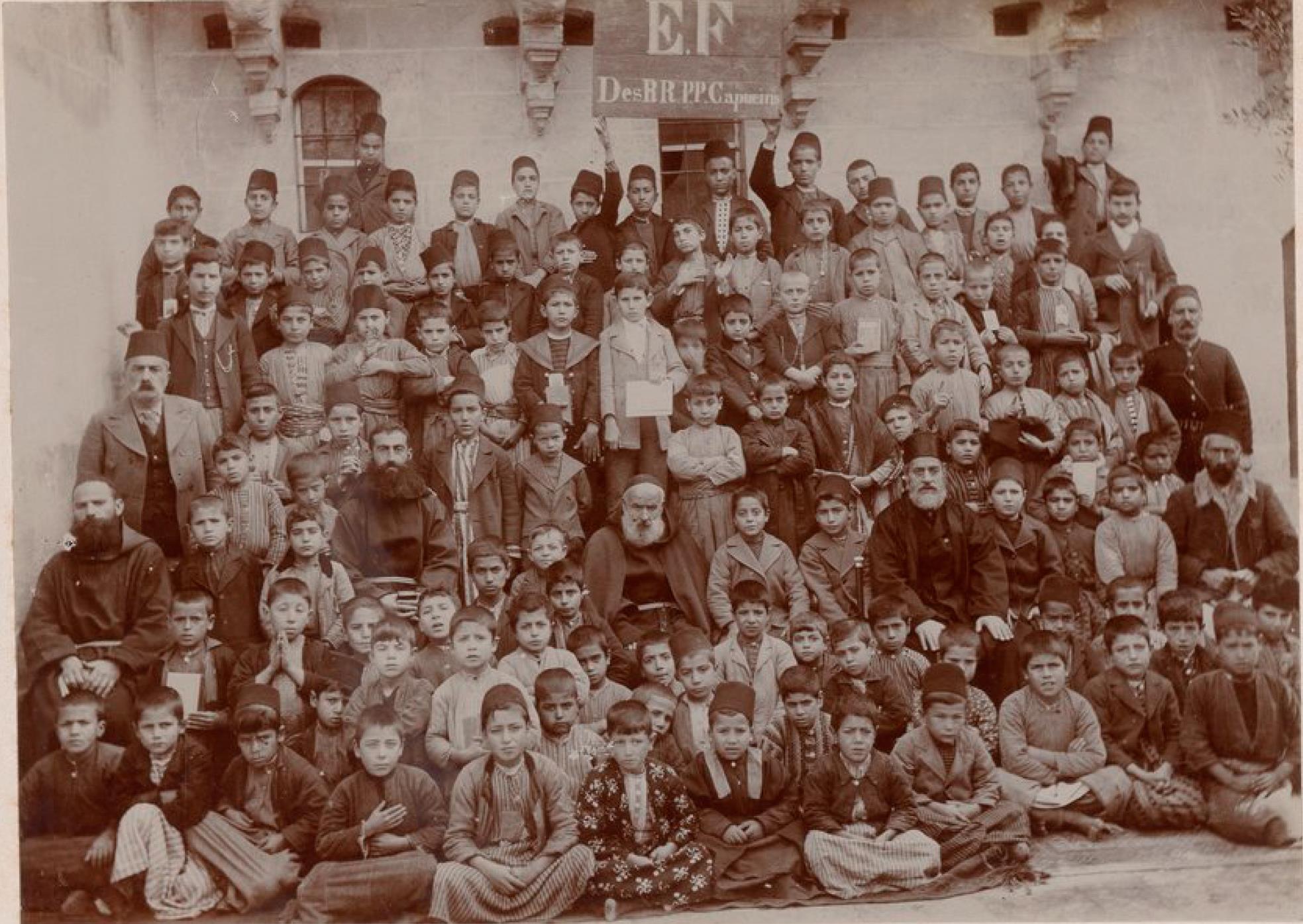 Урфа. Миссионеры, учителя и ученики миссионерской школы
