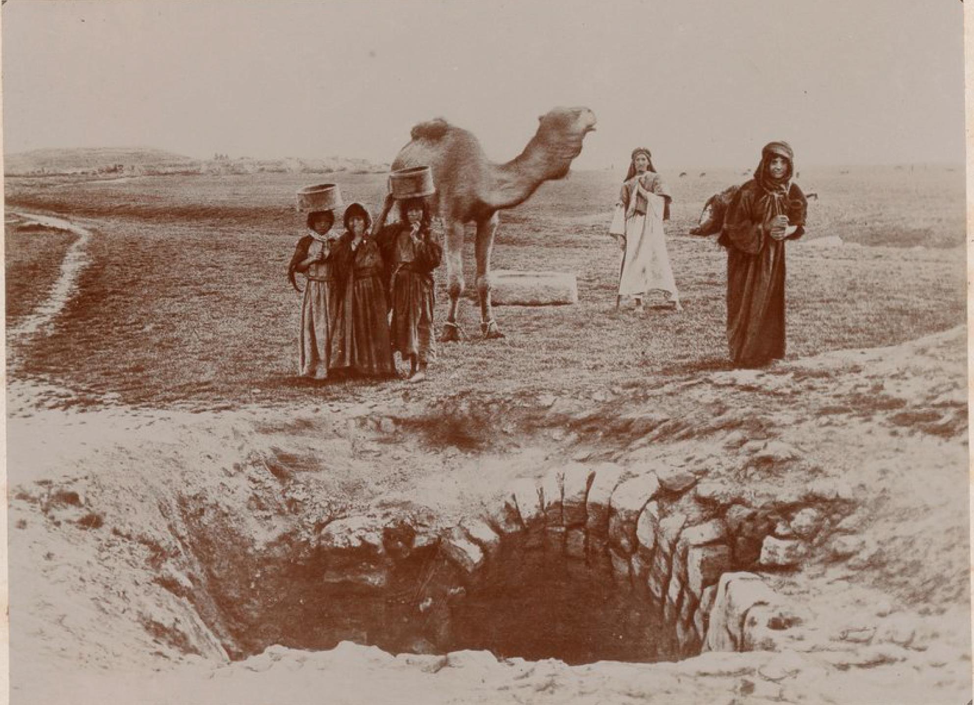 Харран. Колодец Ребекки Библейское место, где останавливались Авраам, Иаков, Ребекка и Рахиль