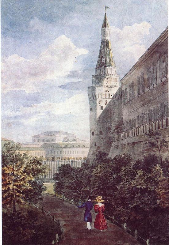 1829. Кремлевский сад