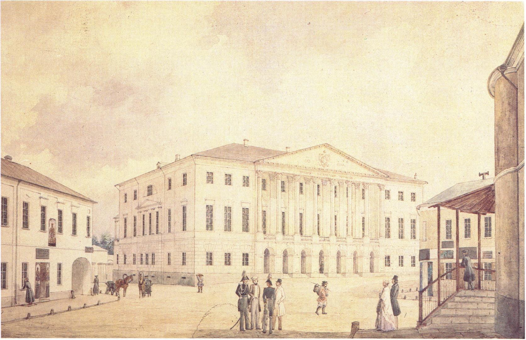 1840-е. Вид Елоховской улицы
