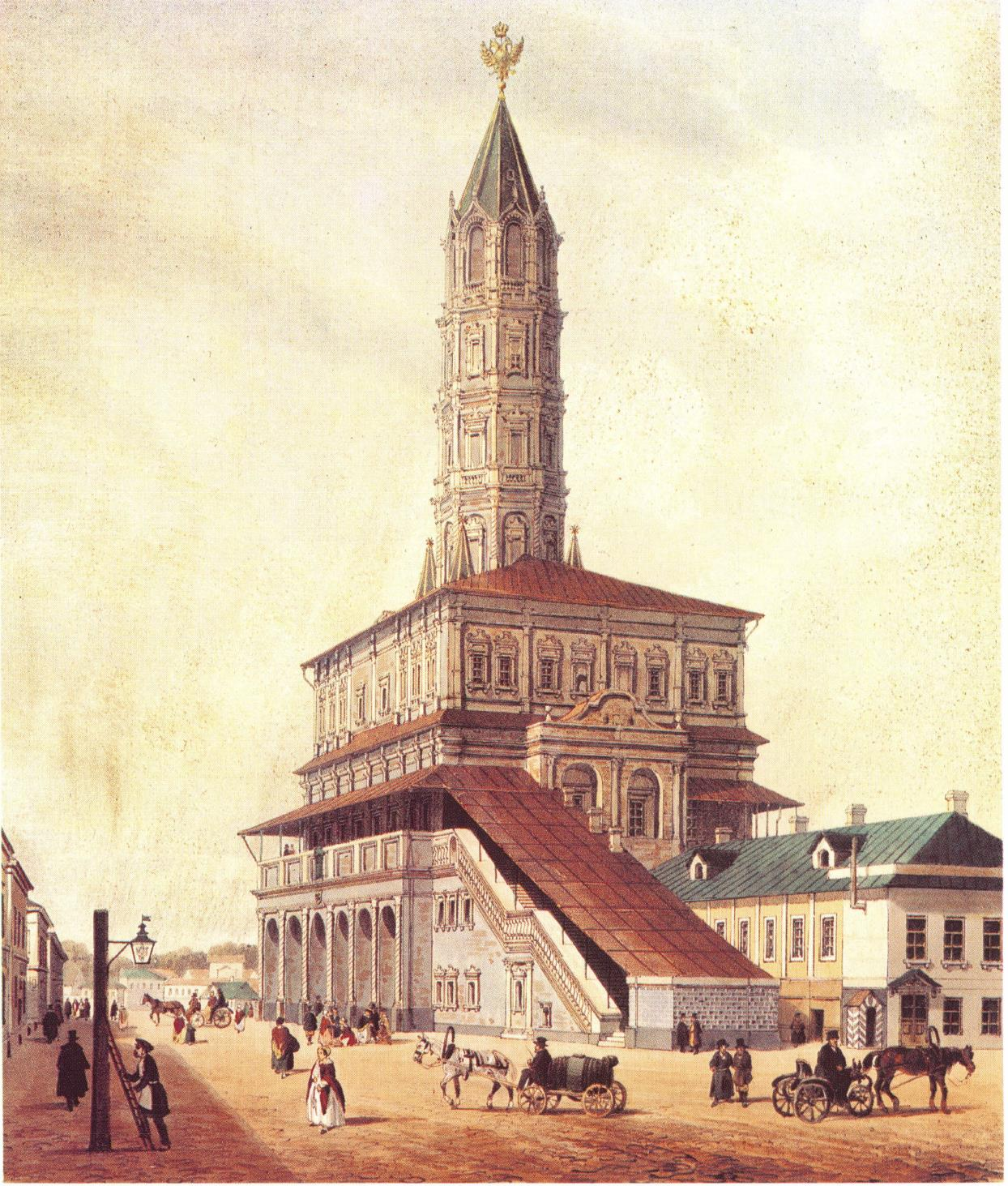 1846. Сухарева башня