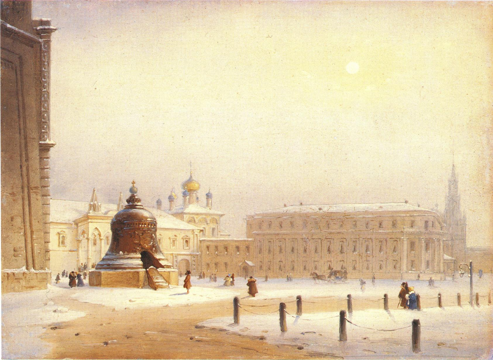 1860-е. Ивановская площадь