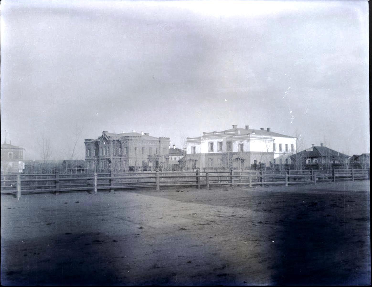 29. Минусинск. Библиотека и музей