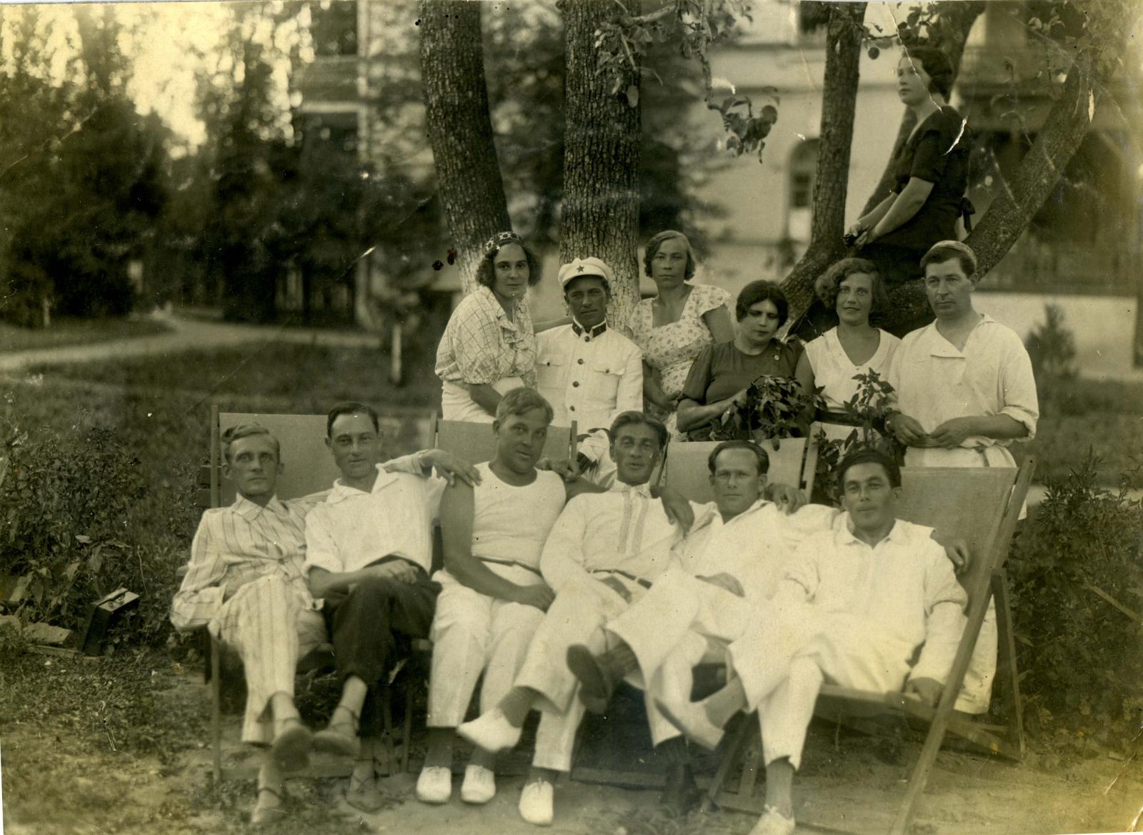 1935. Санаторий НКВД. Ессентуки