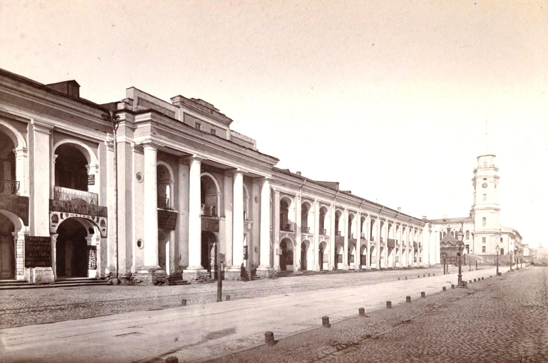 1880-е. Гостиный двор
