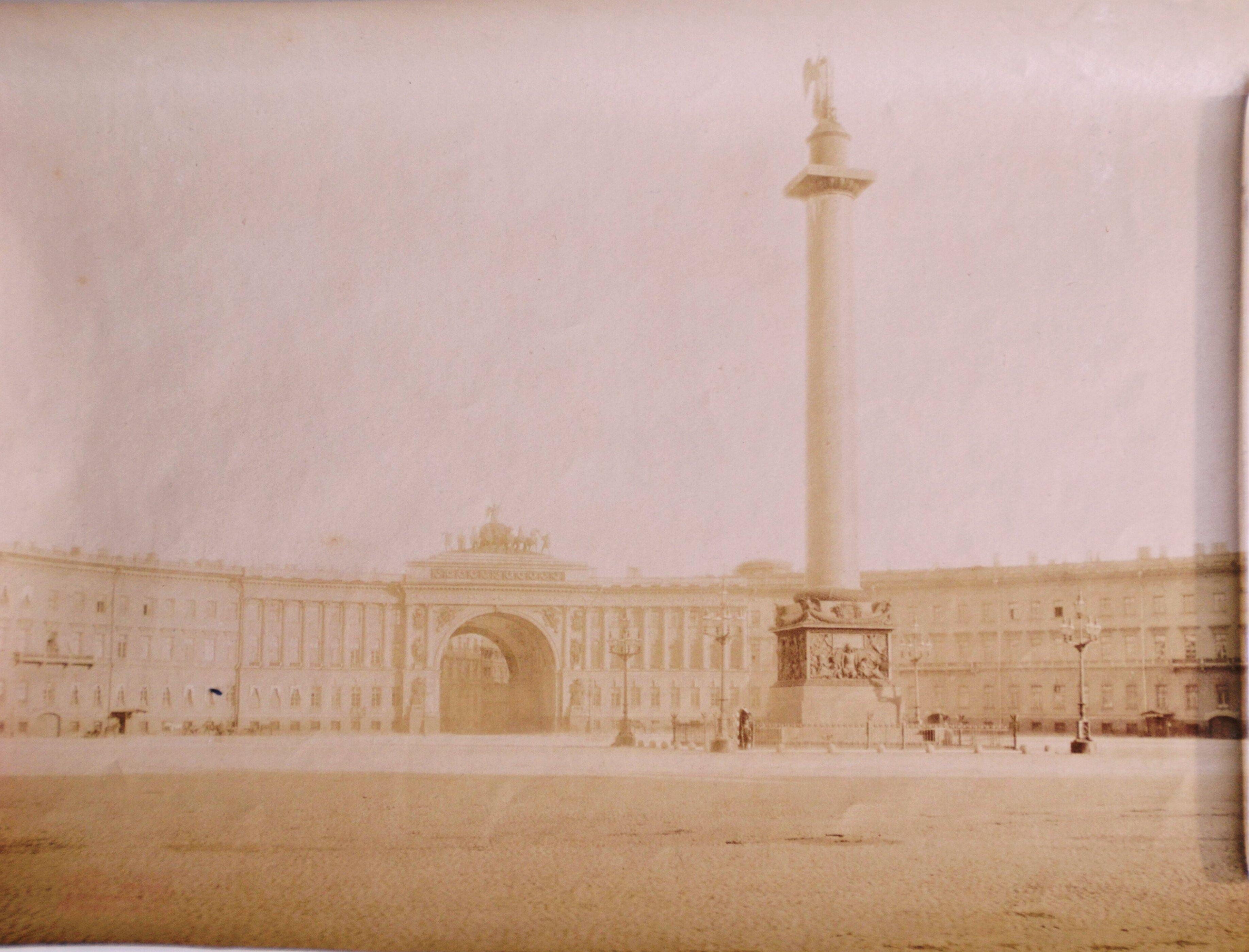 1890-е. Дворцовая площадь