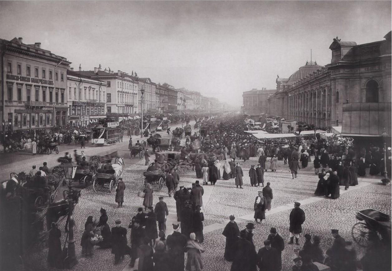 1900-е. Невский проспект у Гостиного двора
