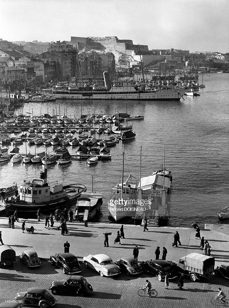 1951. В гавани Марселя.